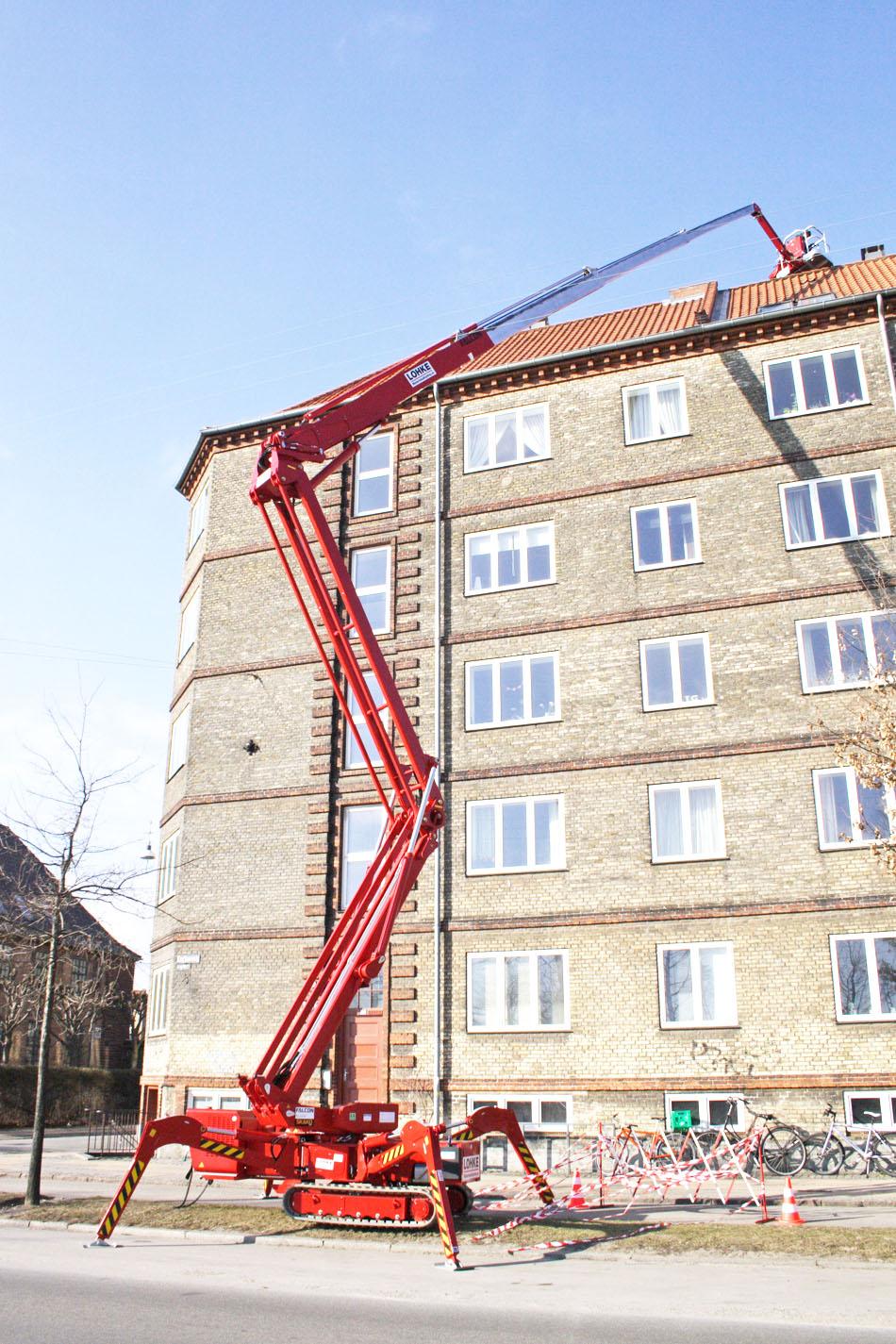 33米橡胶履带蜘蛛式升降机