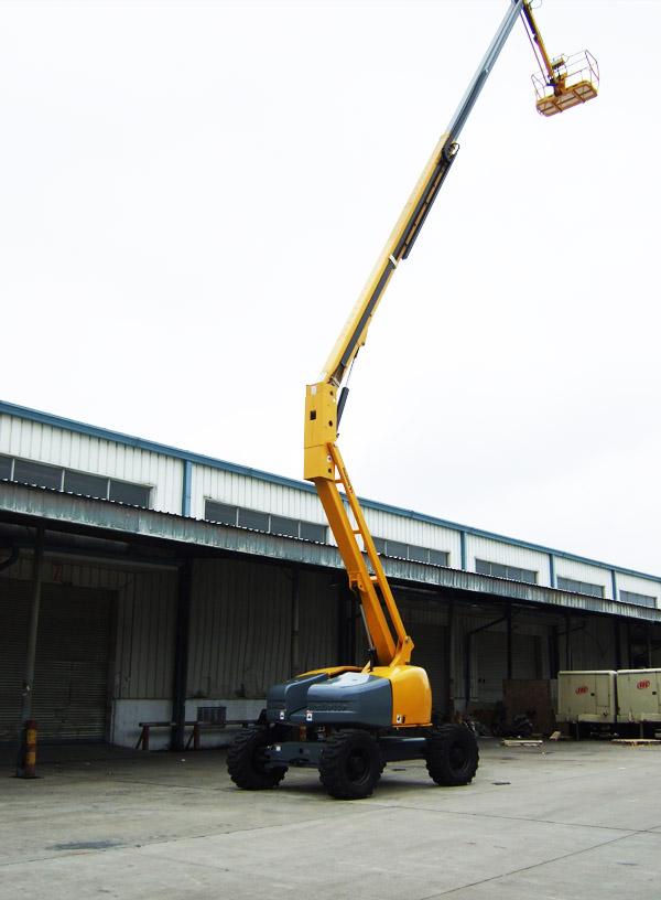 26米柴油曲臂式升降平台