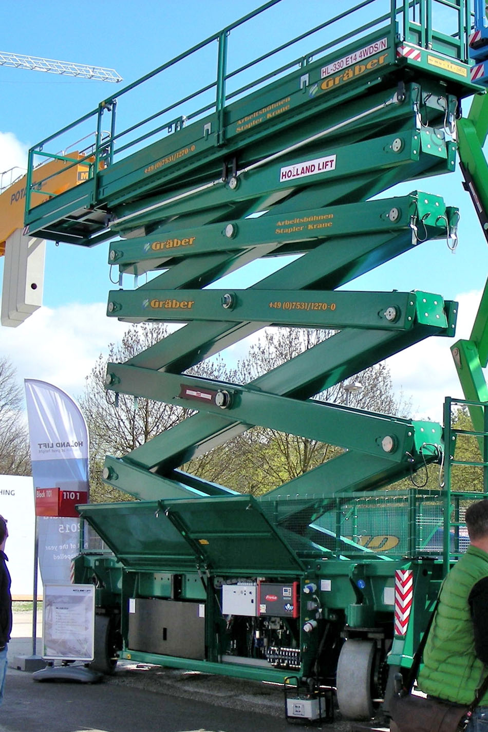 33米大载重剪式升降平台